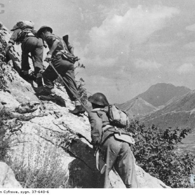 Monte Cassino Italy Polish army