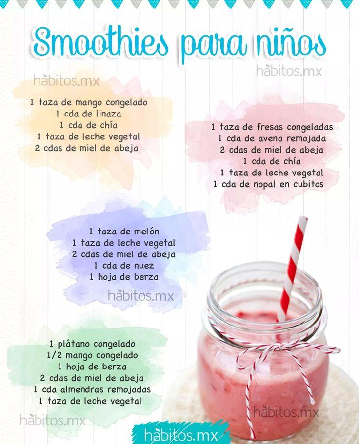 Smoothie para niñas | veggi | Pinterest | Para niños