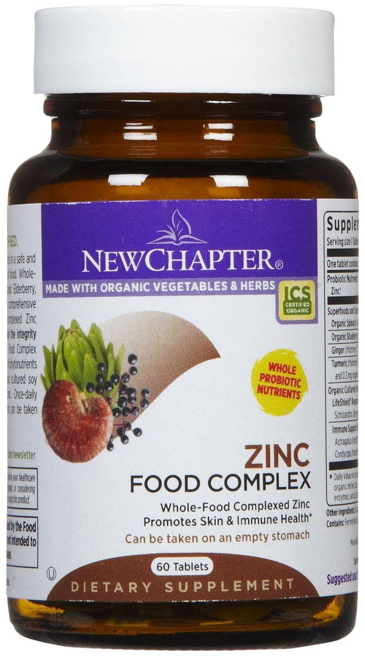 New Chapter Zinc Food Complex Tabs - Best Price