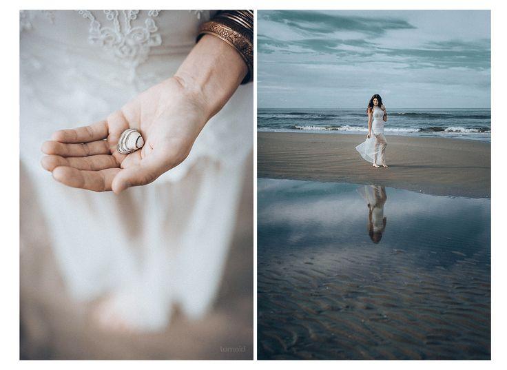 *j - Model: Janine  #photoshoot #inspiration #portrait #collage # lifeisbetteratthebeach #shell #melancholy #fotografin #wijkaanzee #ruhrgebiet #vintage #looslikefilm
