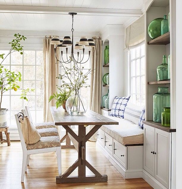 Breakfast Nook | Country Living magazine