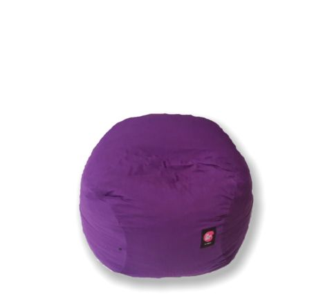 Gamer chair in bright purple cotton – TheBeanBag