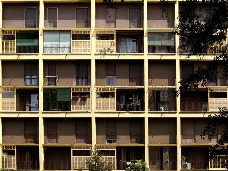 Condominio in via Harar 1951 - 1955 /Luigi Figini, Gino Pollini