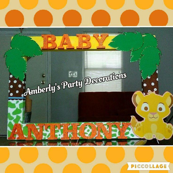Simba baby shower ideas