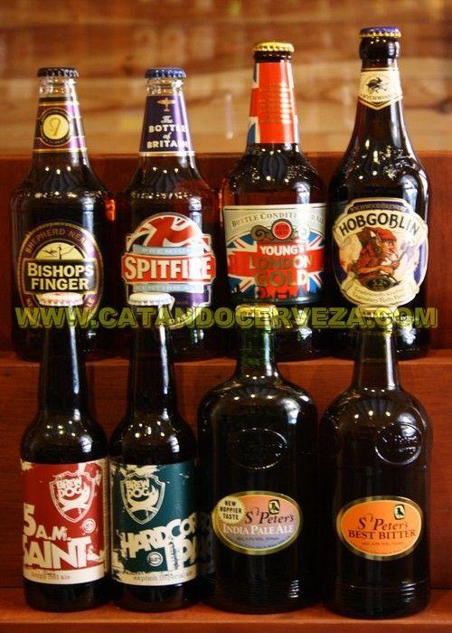 Pack de #cerveza británica compuesta por cerveza inglesa y #cerveza escocesa.
