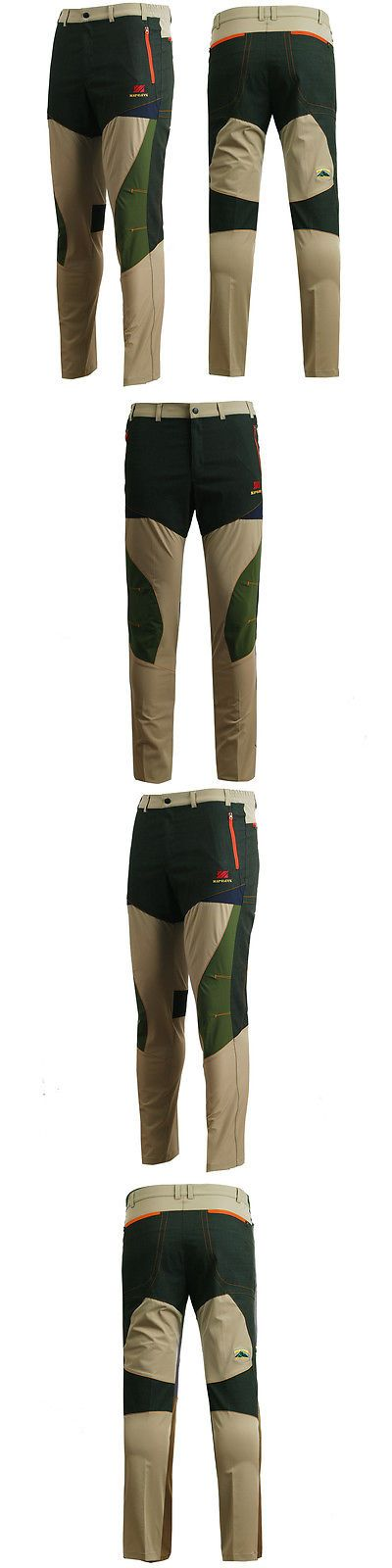 Clothing 101685: Zipravs Mens Outdoor Clothing Road Hiking Camping Working Trousers Sports Pants BUY IT NOW ONLY: $35.0