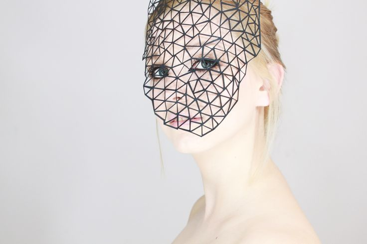 VEIL  Makeup, photo, retouch; MKPengineer http://mkpengineer.tumblr.com/