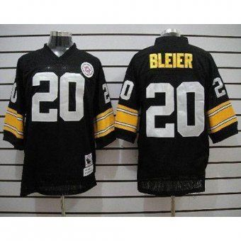 wholesale dealer 1f11e 854a9 Mitchell & Ness Steelers #20 Rocky Bleier Black Stitched ...