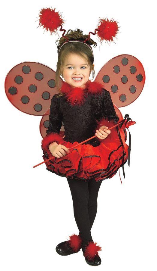 LADY BUG CHILD COSTUME