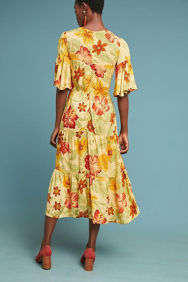 ae09d7f53ba0f Slide View: 2: Faithfull Rios Floral Dress Vintage Textiles, Anthropologie,  Anthropology