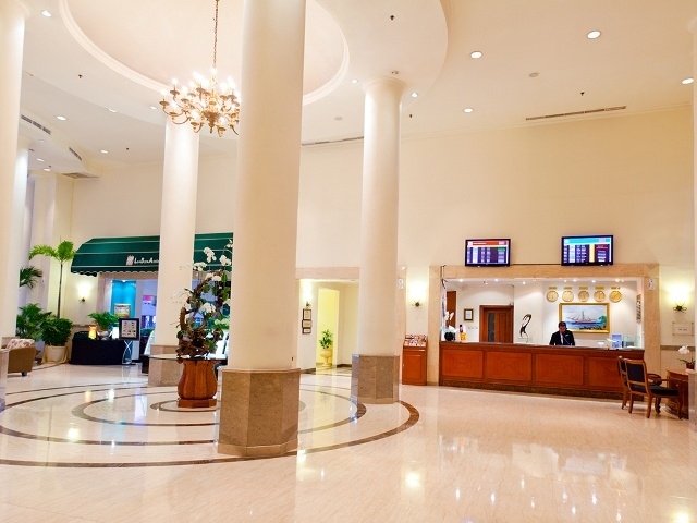 Flight Information Data Service are available at Lobby Area, to make easier guest to check the flight schedule Live!