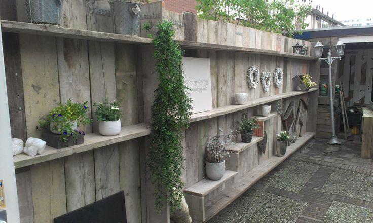 tuinschutting versieren - Google zoeken