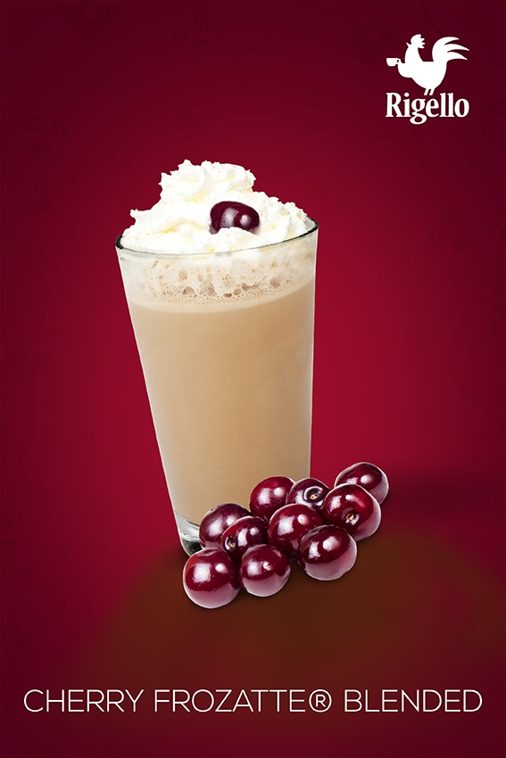 Frozatte® Line: #Cherry Frozatte® Blended #Coffee by #Rigello