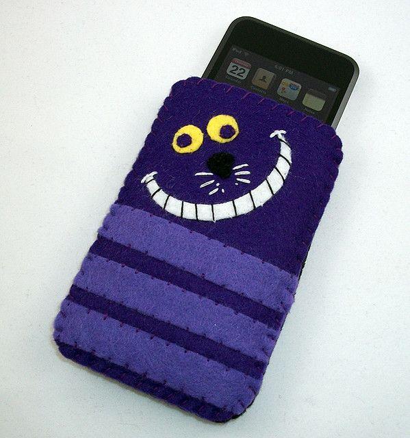 cheshire cat (disney) felt iphone case