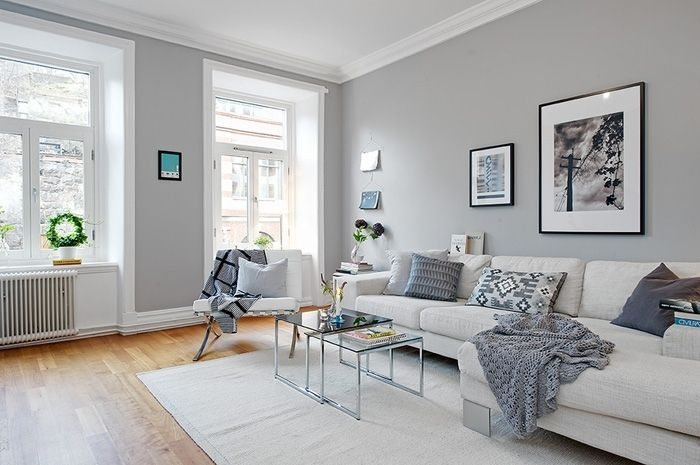 Серый цвет в интерьере. 50 современных вариантов - Сундук идей для вашего дома…