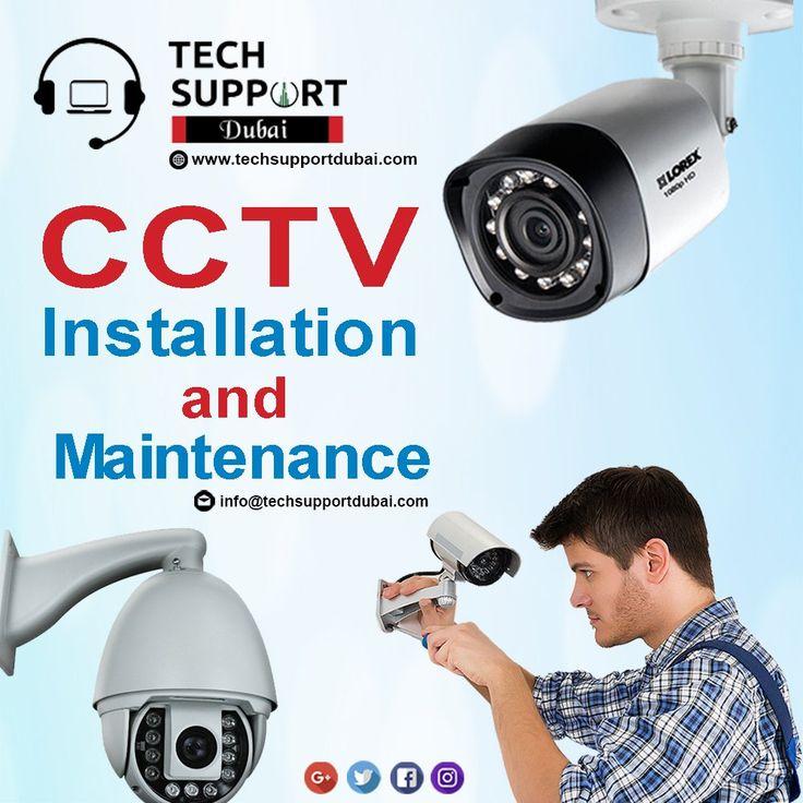 We at TechSupportDubai provide world class CCTV