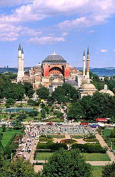 Hagia Sophia, Constantinople (Istanbull) - Turkey