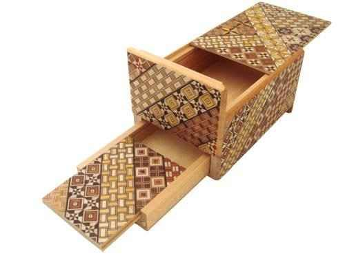 Anything inside a Japanese Puzzle Box: