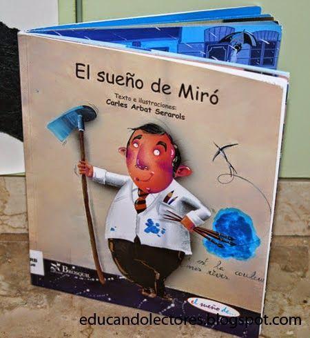 Un fantástico libro para jugar a ser Miró