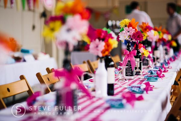 A colourful, traditional, floral country village fete wedding in Kent | http://english-wedding.com/2013/09/a-colourful-traditional-floral-country-village-fete-wedding-in-kent/