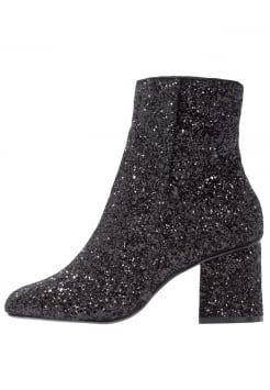 Dorothy Perkins - Korte laarzen - black glitter