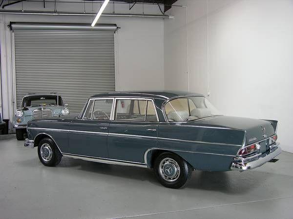 1965 mercedes benz 300se long maintenance restoration of for Mercedes benz maintenance b