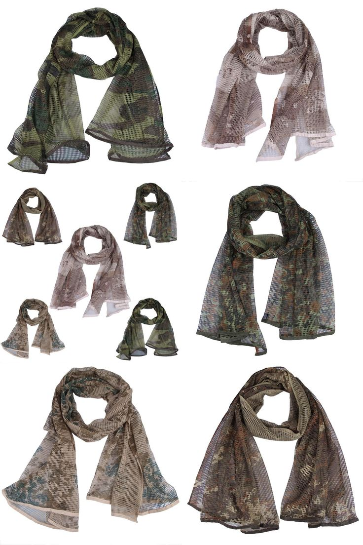[Visit to Buy] Unisex Mesh Scarf Tactical Hood Muslim Hijab Breathable Arabic Camouflage Scarf for Desert Outdoor Sports #Advertisement