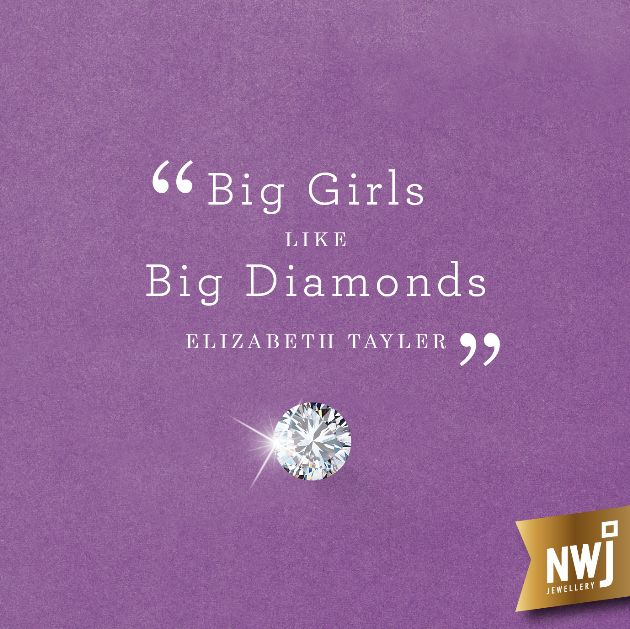 We all know that Liz loved a diamond or two ;) check out or latest Diamond collection to chose yours... http://www.nwj.co.za/brochures/NWJ_Diamond_Collection2016/