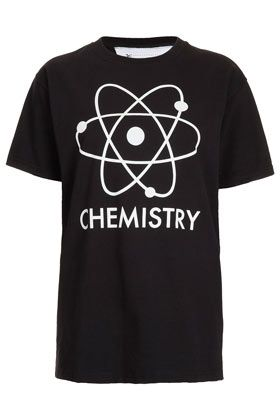 Chemistry Glow In The Dark Tee by Tee and Cake