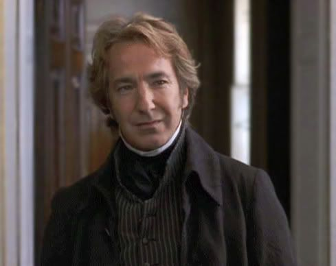 Alan Rickman as Colonel Brandon - Sense & Sensibility--who would have ever thought Snape could be sexy?