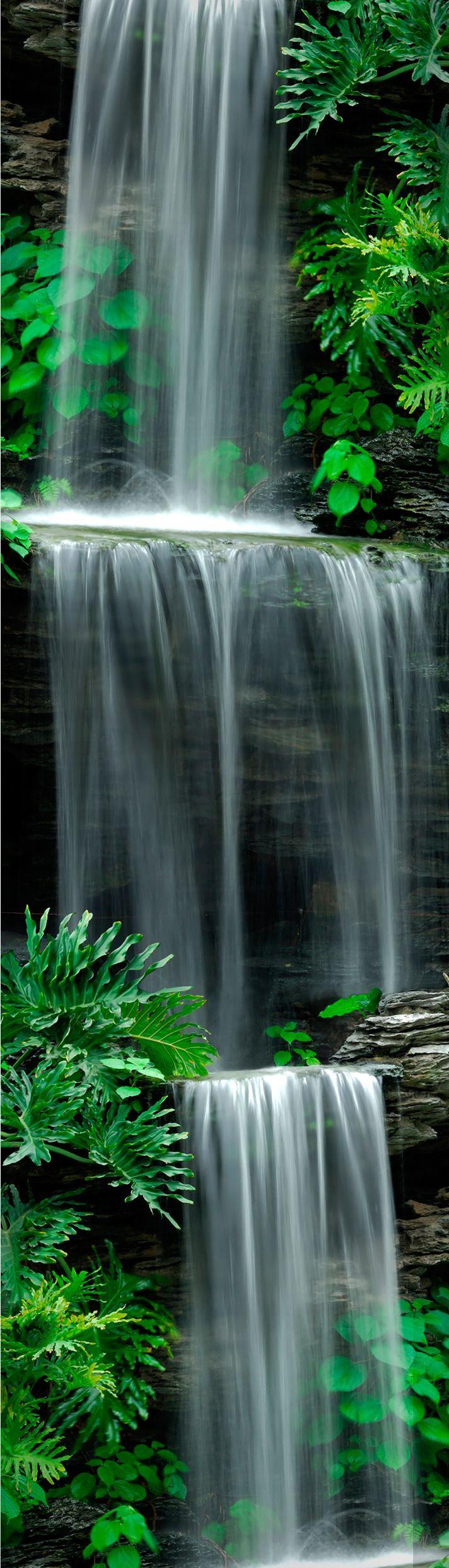 Graham Brown Cascade Stone Waterfall Wallpaper Diy And