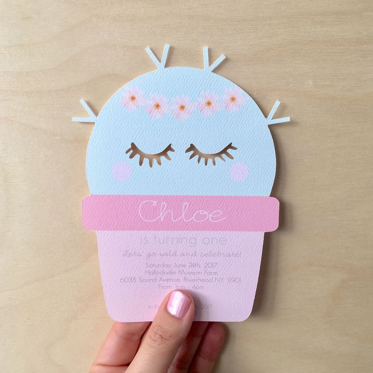 CUTE CACTUS INVITES / Piccolo Studio