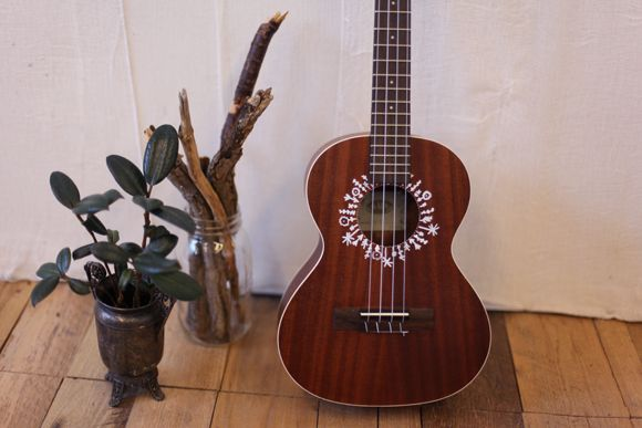 1000 images about uke related diy on pinterest ukulele for Acoustic guitar decoration