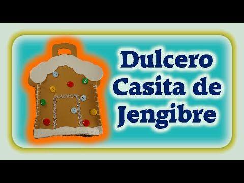 Dulcero Casita de Jengibre muy fácil