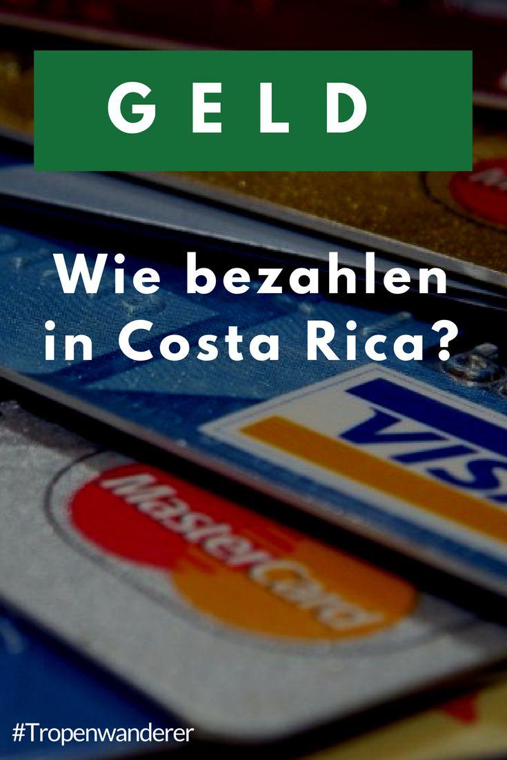 Wie heisst die Währung Costa Rica's, wie kannst du bezahlen? Diese und weitere Fragen klären wir hier.  #CostaRica #PuraVida #Geld #Kreditkarten #Colones #Reisen  #Tropenwanderer – Monalisa Paris