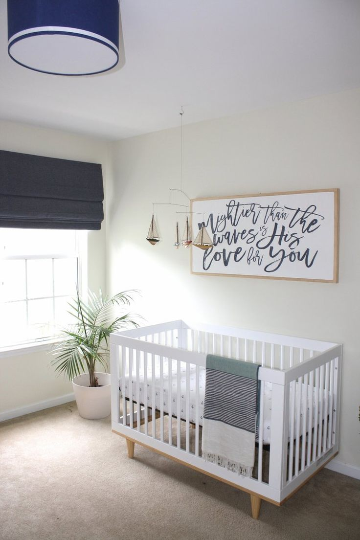 Baby room ideas on a budget - Nautical Nursery Budget Friendly Nursery Beach Themed Nursery Boy Or Gender Neutral Or