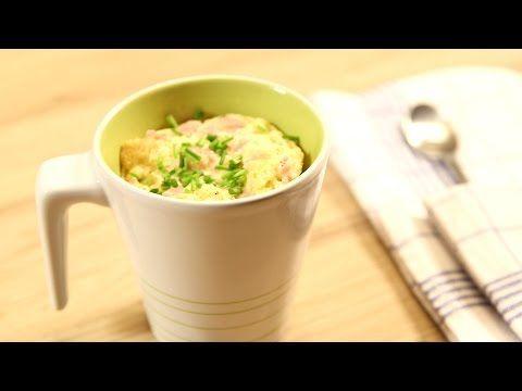 Tassen-Rezept: Rührei in der Mikrowelle | eKitchen
