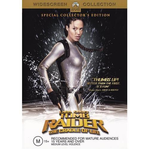 Discounted: Lara Croft Tomb Raider: The Cradle Of Life (DVD, 2003) #movies