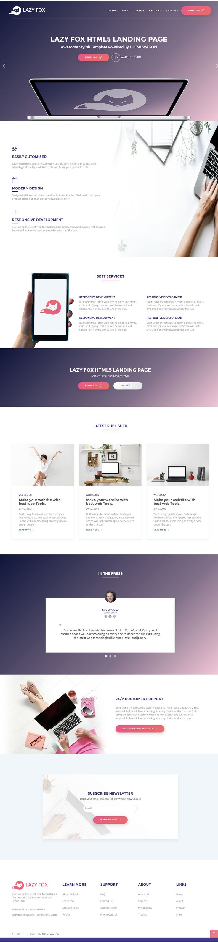 203 best Free HTML Templates images on Pinterest | Powerful quotes ...