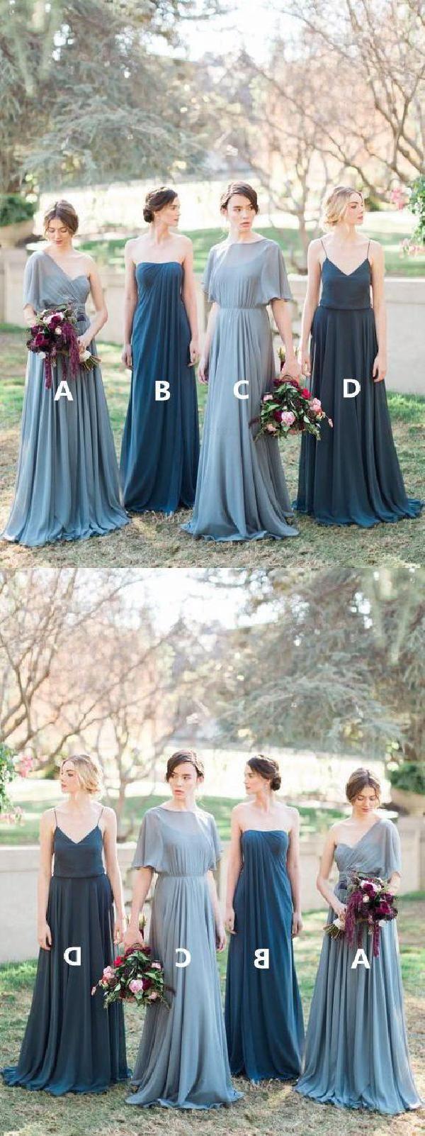 Suitable navy blue bridesmaid dress grey bridesmaid dress in