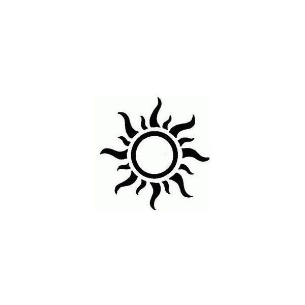 Tatto Ideas 2017  Sun Tattoo Designs  liked on Polyvore featuring accessories and body art
