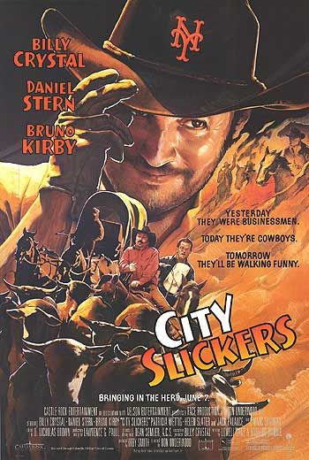 City Slickers ~ Billy Crystal, Jake Gyllenhaal, Daniel Stern, Jack Palance, David Paymer, Josh Mostel, Yeardley Smith, Jeffrey Tambor, Tracey Walter.