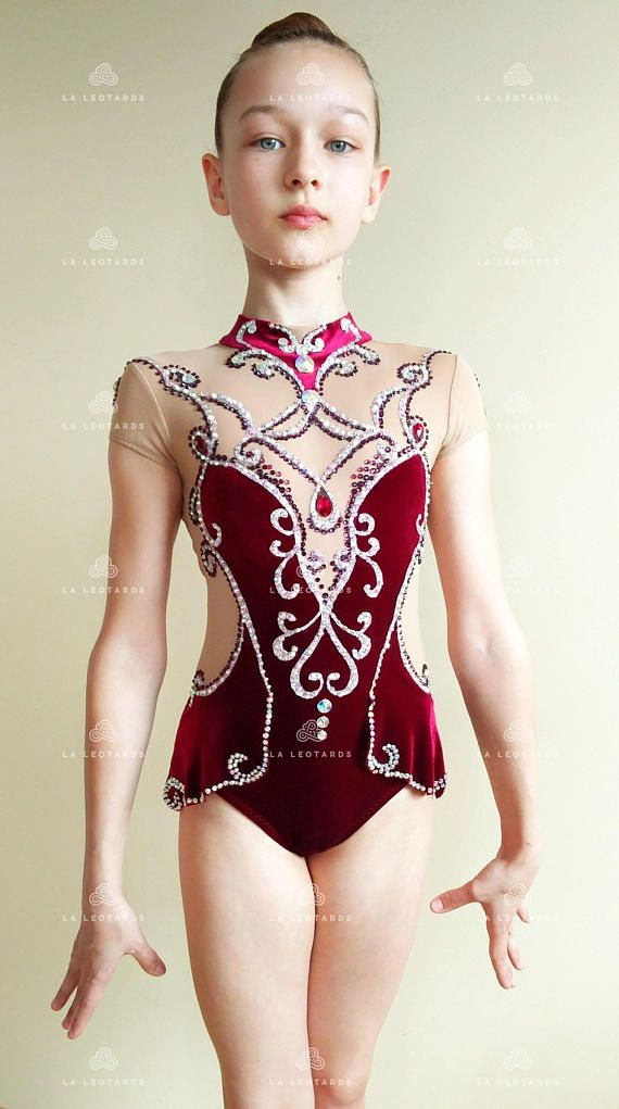 Compeion Rhythmic Gymnastics Leotard Sold