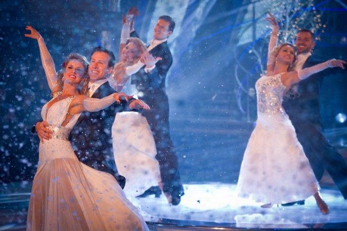 The Strictly professional dancers Erin Boag, Anton Du Beke, Natalie Lowe, Brendan Cole, Ola Jordan, Artem Chigvinstev – (C) BBC – Photographer: Guy Levy