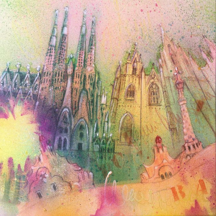 Buy Barcelona 11 (S), Mixed Media painting by Beate Garding Schubert on Artfinder. Discover thousands of other original paintings, prints, sculptures and photography from independent artists.