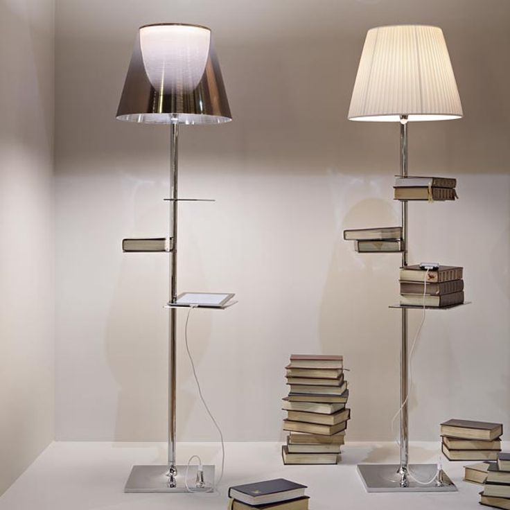 The Flos Bibliotheque Nationale Floor Lamp; An Innovative Design By The  Renowned French Designer Philippe Starck. The Aptly Named Bibiliotheque  Nationale ...