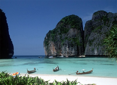 The beaches in Thailand