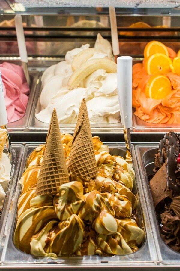 Caramel Ice Cream #Caramel #IceCream
