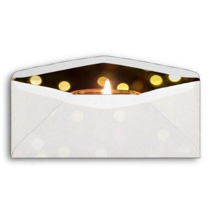 #Long Business Christmas Lights Return Address Envelope - #Xmas #ChristmasEve Christmas Eve #Christmas #merry #xmas #family #kids #gifts #holidays #Santa