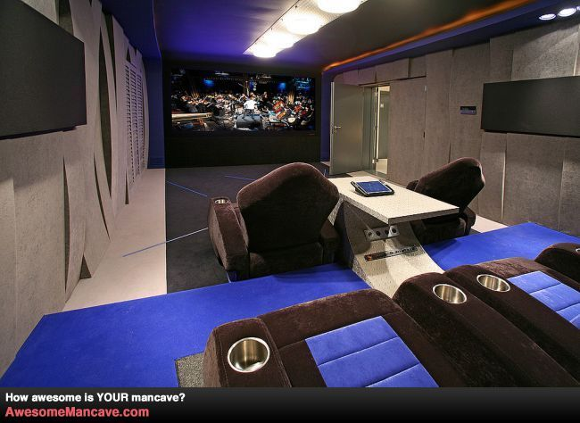 Racing Man Cave Ideas : A racing theater mancave vroom make it man cave
